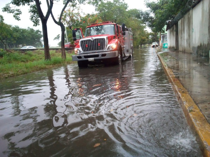 Anegaciones menores  por lluvias: IPCET