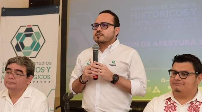 Inaugura Walter Olivera actividades del Sehacam en Campeche