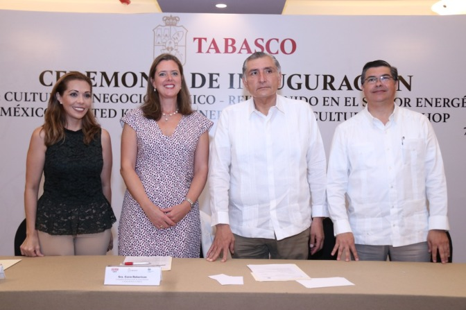 Tabasco será el eje energético de México: Adán Augusto López