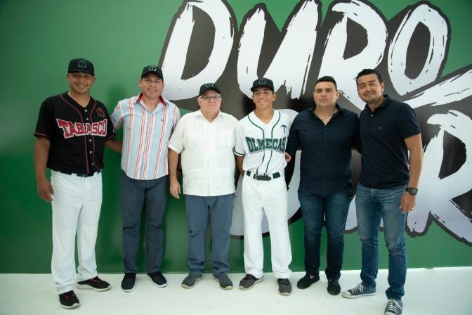 Presentan nueva imagen de Olmecas