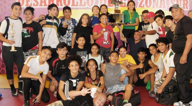 Tabasco, primer lugar en Campeonato Nacional   de Luchas Asociadas