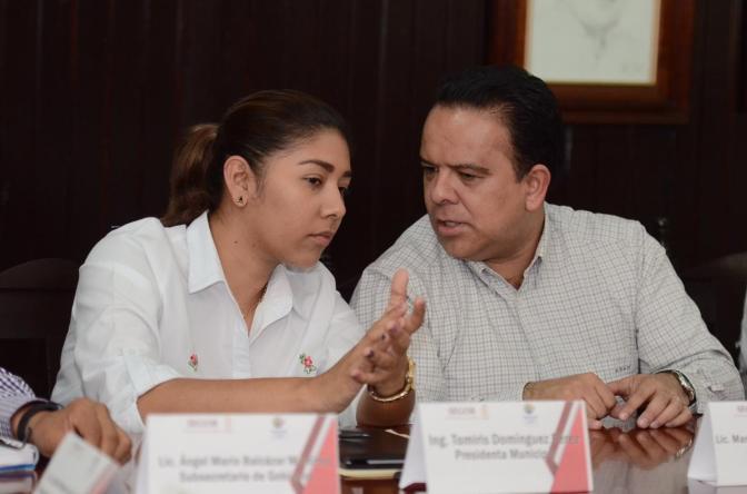 Entablan diálogo Secretaría de Gobierno y Ayuntamiento de Tacotalpa