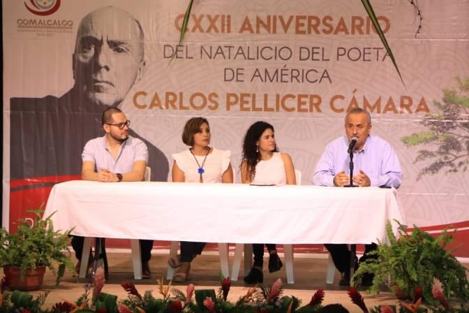 Jornadas Pellicerianas, del 21 al 23 de febrero