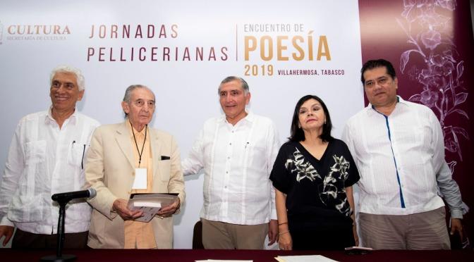 Con la cultura vamos a reconciliar  a Tabasco, afirma el Gobernador