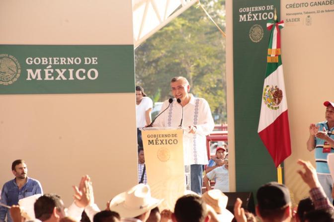 Tabasco, solidario con el Presidente de México: Adán Augusto