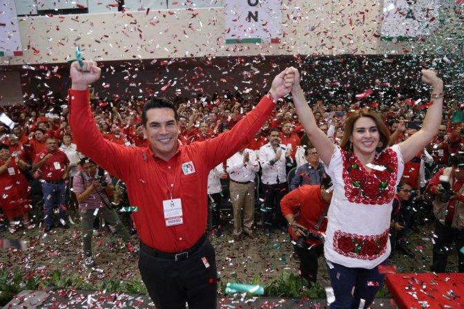 Va gobernador de Campeche por liderazgo nacional del PRI