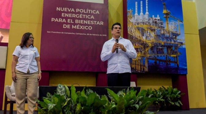 Industria energética debe renacer con esquema contemporáneo y moderno: Alejandro Moreno Cárdenas