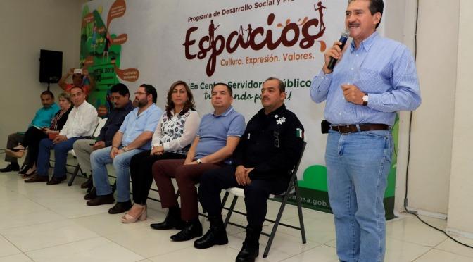 Presenta Evaristo Hernández Programa de Desarrollo Social y Prevención