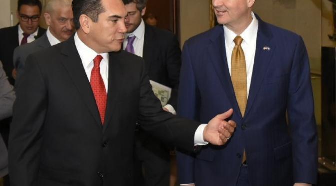 Fortalece el Presidente de Conago y gobernador de Campeche relación bilateral con Nebraska, E.U