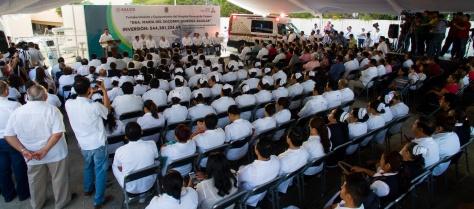 22-MARZ-2019 FORTALECIMIENTO Y EQUIPAMIENTO DEL HOSPITAL GENERAL DEL CARMEN DRA. MARÍA DEL SOCORRO QUIROGA AGULAR Y ENTREGA DE DONACIONES DE PEMEX-5