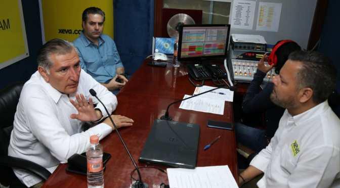 Pide Adán Augusto a CFE respetar acuerdos durante negociación de nueva tarifa