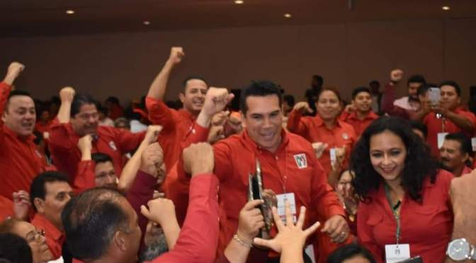 """""""Juntos le devolveremos al PRI su grandeza"""": Alejandro Moreno Cárdenas"""