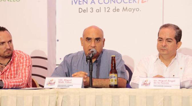 La Feria Tabasco 2019 será una gran fiesta para orgullo de los tabasqueños: Miguel Wabi