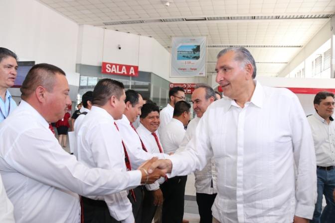 Gobierno Federal es generoso con Tabasco, asegura Adán Augusto