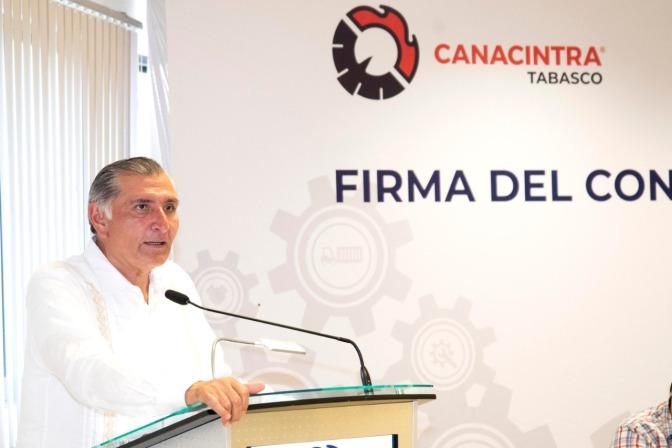 Reforzará Adán Augusto seguridad  para dar certidumbre a inversiones