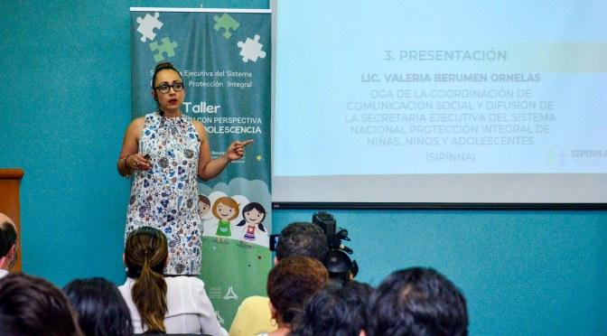 Imparten taller de comunicación sobre perspectiva de niñez y adolescencia promovido por el gobierno de Campeche