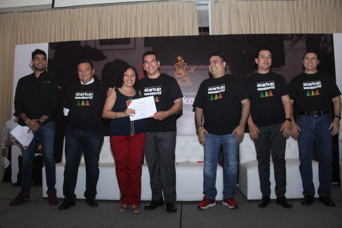El gobernador Alejandro Moreno inaugura el Mega Startup Weekend; participan 300 emprendedores de la Región Sureste