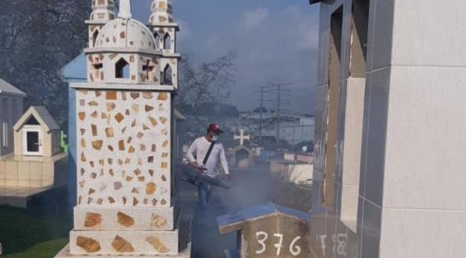 Duro contra el Dengue en Centro