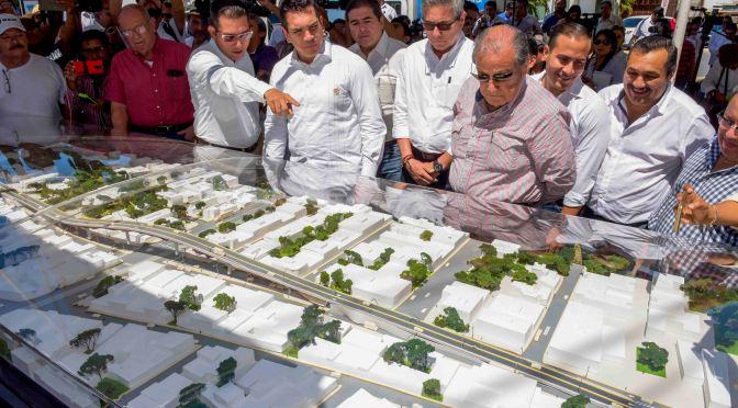 Anuncia el gobernador Alejandro Moreno puente vehicular de la Avenida Central Patricio Trueba en Campeche