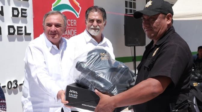 Campeche debe seguir siendo ejemplo nacional de seguridad: Carlos Miguel Aysa