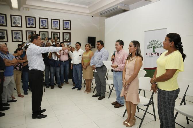 Apoyará AMLO a comunidades indígenas de Centro: Evaristo Hernández