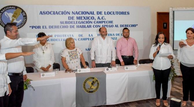 Rinden protesta integrantes de la subdelegación Campeche de la ANLM