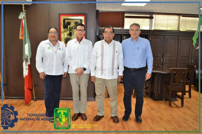 Presentan al nuevo subdirector de servicios administrativos del Tec de Villahermosa