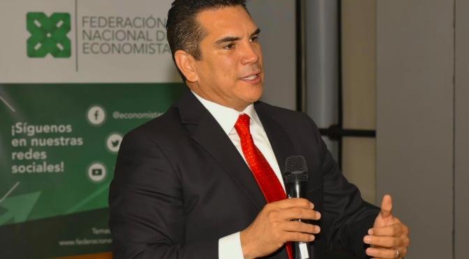 """""""Hemos dado resultados contundentes en materia económica en Campeche: Alejandro Moreno"""