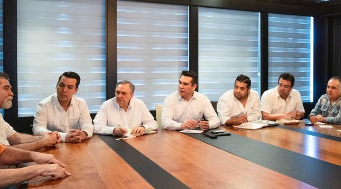 El Gobernador Alejandro Moreno evalúa avances de obras y acciones que entregará próximamente