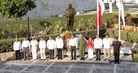 29ABRIL2019-OFRENDA FLORAL 156 ANIVERSARIO CAMPECHE ESTADO LIBRE Y SOBERANO2