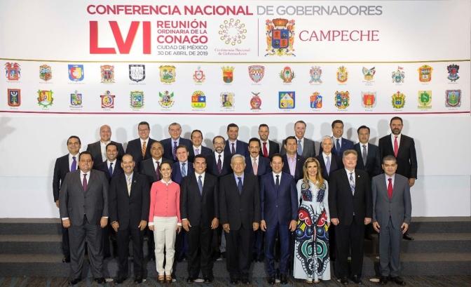 Firman Conago, gobierno federal, CCE y CT acuerdo para diálogo y paz laboral