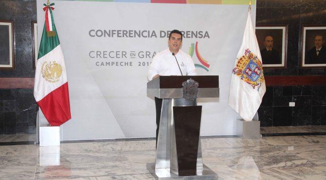 Pide gobernador Alejandro Moreno consolidar las ZEE: son viables para el desarrollo y crecimiento