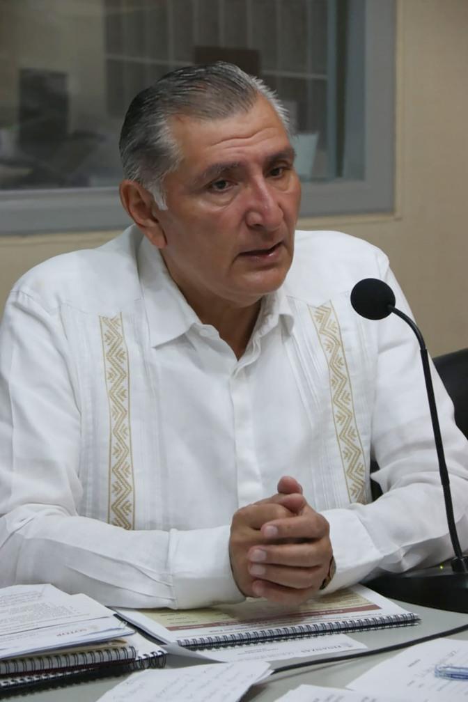 Cumpliremos con lo ofrecido a los tabasqueños: Adán Augusto López Hernández