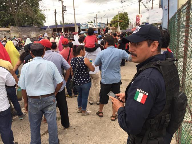 Saldo blanco en Viacrucis de Villahermosa