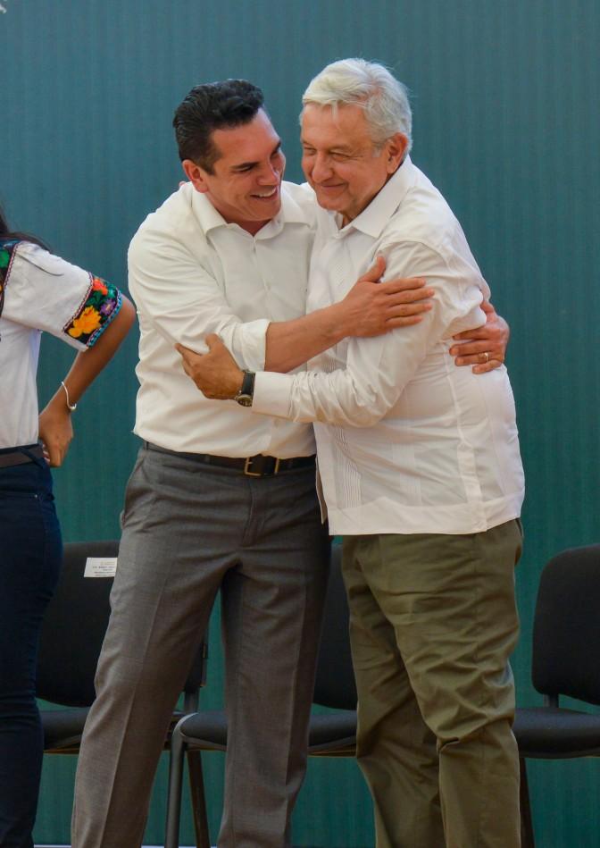 Campeche trabaja en equipo y firmeza para resolver demandas de la sociedad: Gobernador Alejandro Moreno