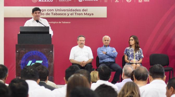 Tren Maya detonará al Sureste mexicano