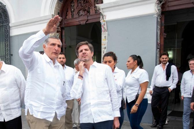 Transparencia y apertura a inversionistas, garantiza Adán Augusto