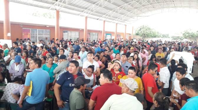 Cierran votaciones en #Macuspana con una alta participación ciudadana