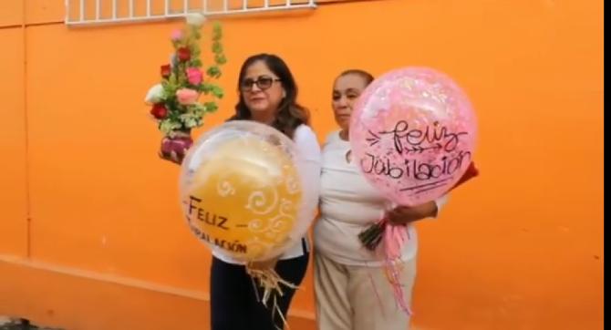 #Video: Emotiva despedida del ISSET de las dos Marías…