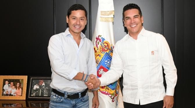 Gobernador y alcalde de Campeche suman esfuerzos para trabajar a favor de la población