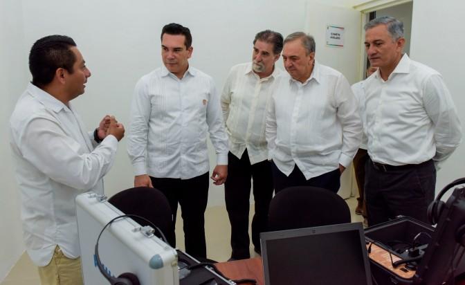 Inaugura el gobernador Alejandro Moreno edificio de Vicefiscalía para Atención de Delitos de Alto Impacto en Campeche