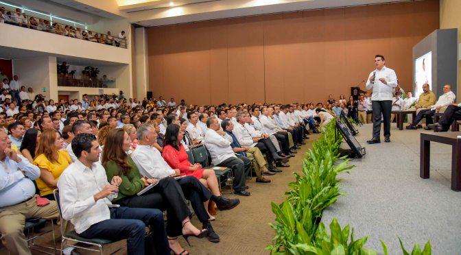 Pide gobernador Alejandro Moreno fortalecer federalismo económico para atender eficazmente demanda de la sociedad