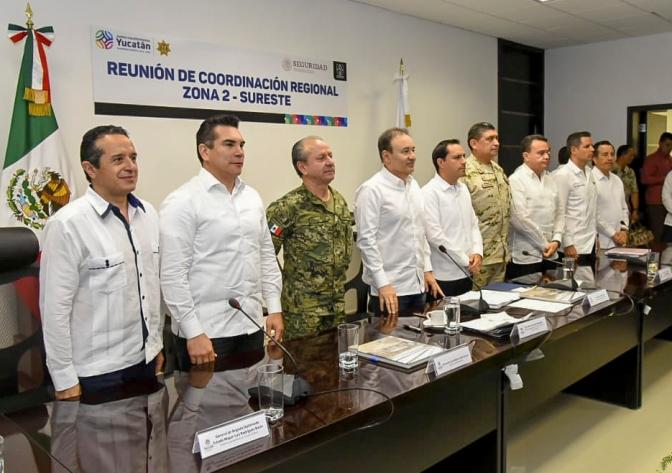 Demanda el gobernador Alejandro Moreno que en temas de seguridad no interceda la política
