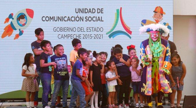 Celebran UCS y TRC a los niños campechanos en su día
