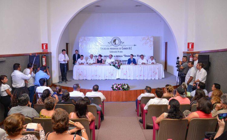 31MAYO2019-ENTREGA MEDALLA EFRAÍN SIERRA-CÍRCULO DE PERIODISTAS CARMEN2.jpg