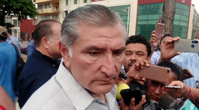 Refinería Dos Bocas acelerará recuperación de Tabasco: Adán Augusto