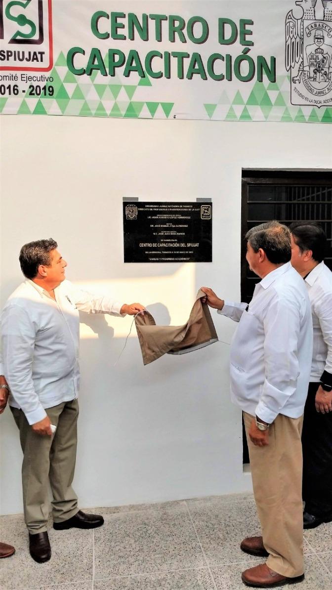 Inauguran Centro de Capacitación del SPIUJAT