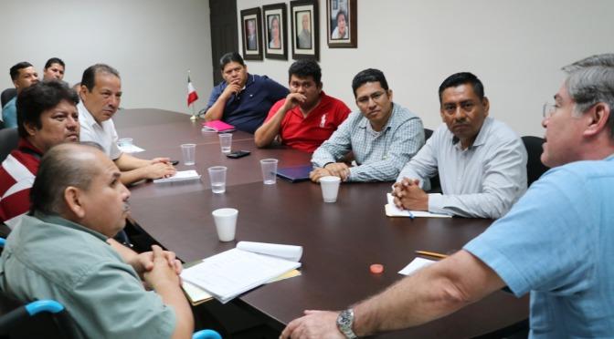 Sindicatos de trabajadores del CECYTE y STSEM sostienen diálogo con el ISSET