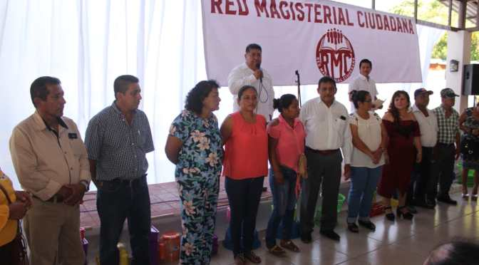 "Celebra ""Red Magisterial Ciudadana"" de Cunduacán a madres del Centro Integrador Carlos Rovirosa"