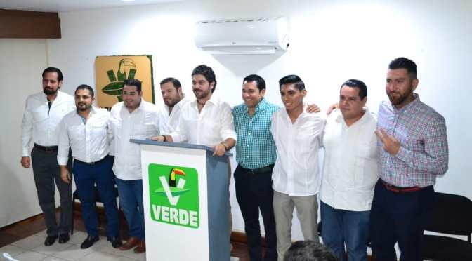 Fortalece el Partido Verde a Estructura de Centro